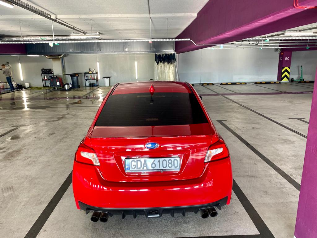 Subaru WRX Mestenza wypożyczalnia samochodów Rafał Grzebin