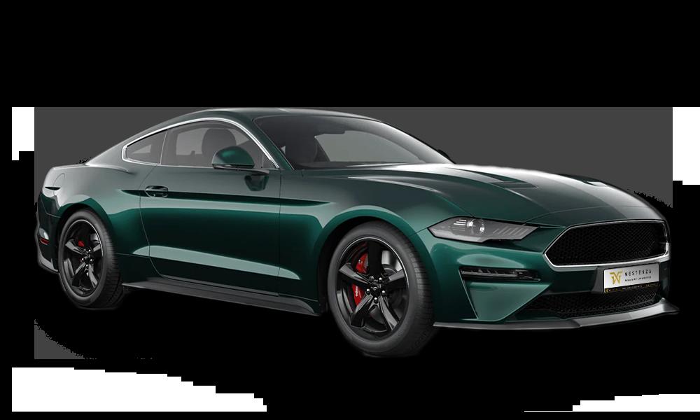 Mestenza - wypożyczalnia samochodów Ford Mustang Bullit Rafał Grzebin